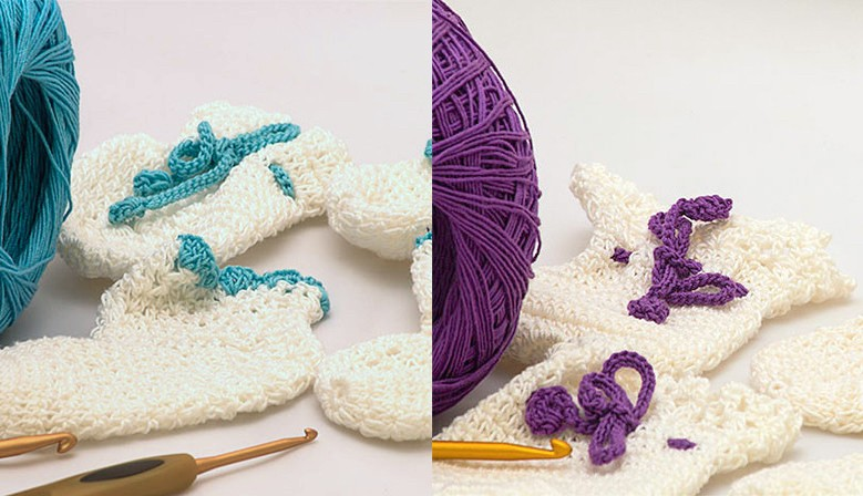 One of the first handmade crochet in Singapore for baby & babies by Aderin Lim Poh Leng